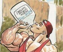 Роль воды в бодибилдинге