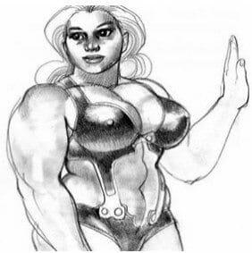 женский бодибилдинг