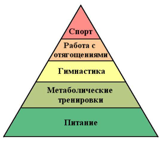 пирамида зависимости навыков во времени