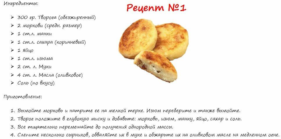 творог, рецепт 1