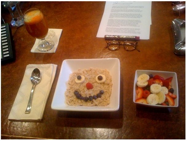 завтрак Шварценеггера