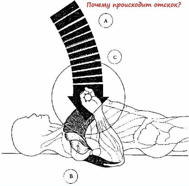 почему происходит отскок в жиме лежа