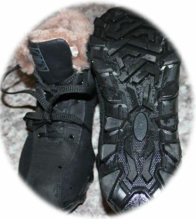 Зимняя обувь для бега, мой вариант