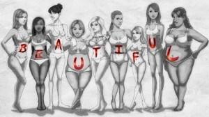 идеальная женская фигура