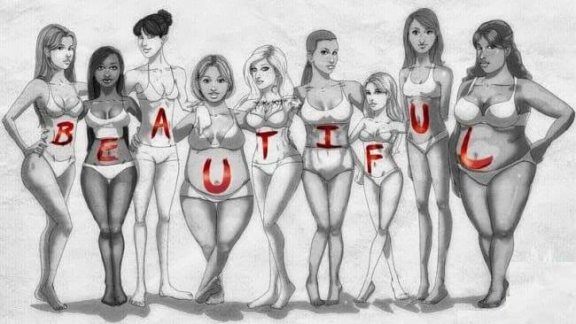 Идеальные женской фигуры