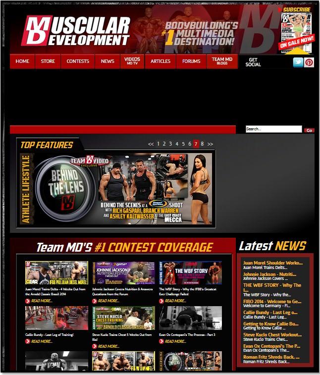 сайт musculardevelopment