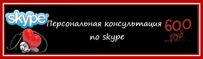 Консультации спортивного врача. Консультация по skype.
