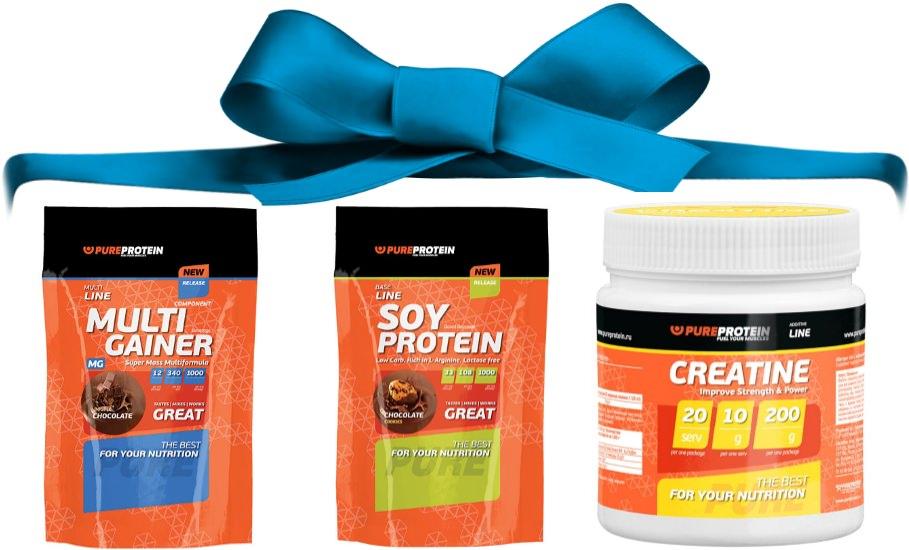 Комплект Pure Protein, подарок 1
