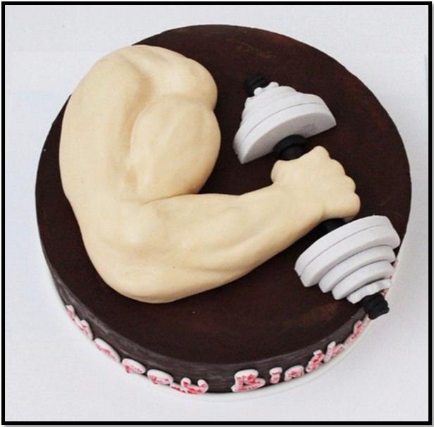 Торт на День Рождения АБ