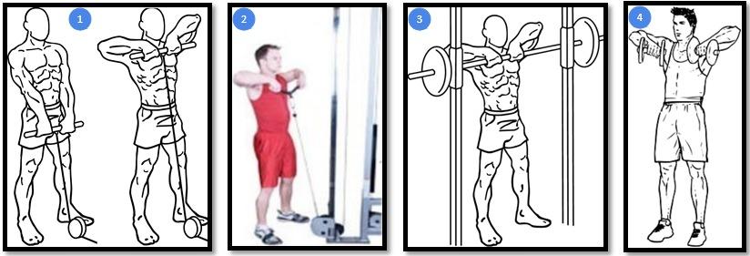 Варианты упражнения тяга нижнего блока к груди