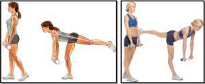 Становая тяга на одной ноге. Техника выполнения
