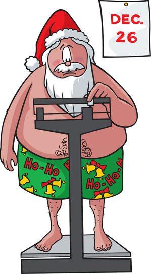 худеем после праздников