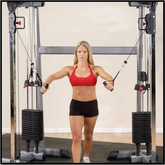 Упражнения для упругости грудины в домашних условиях