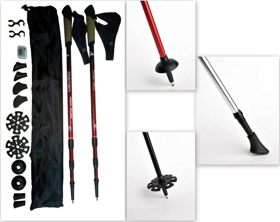Палки для скандинавской ходьбы manGo полный комплект