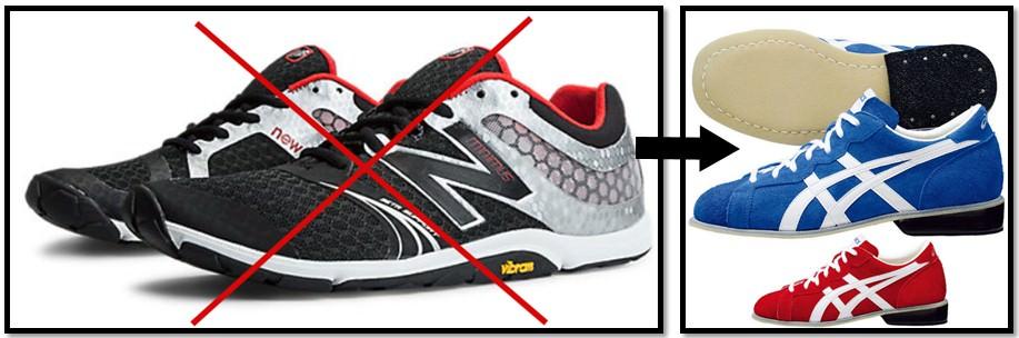 обувь для фронтального приседа