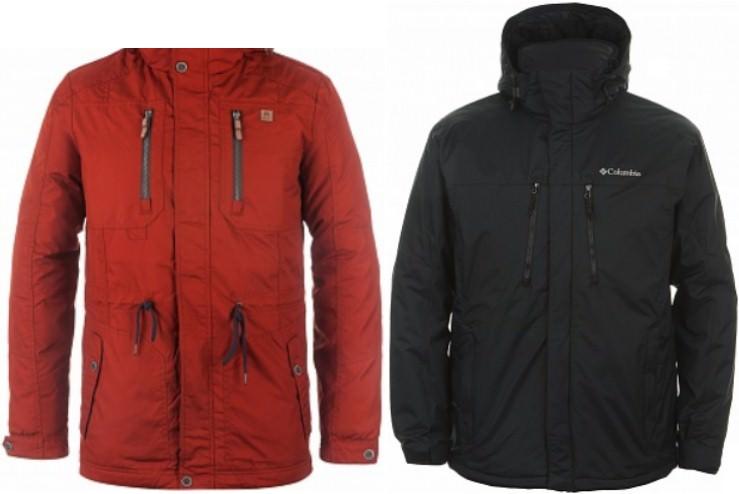 многослойные куртки