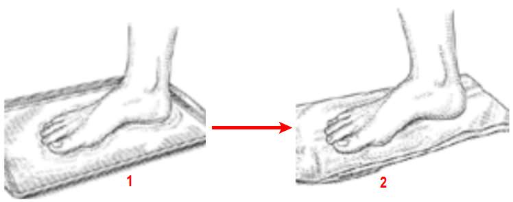 тест на плоскостопие
