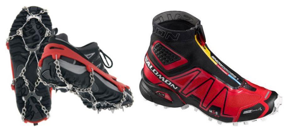 обувь для бега зимой, варианты