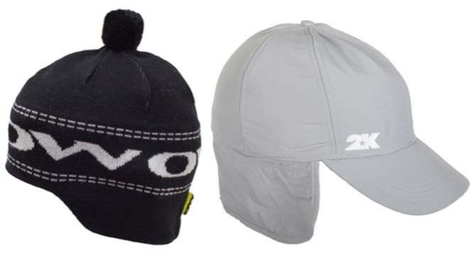 шапка для бега зимой