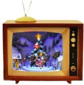 телевизор в новый год