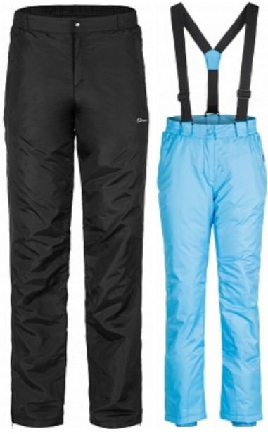 утепленные зимние брюки