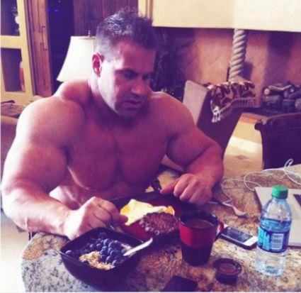 завтрак джея катлера