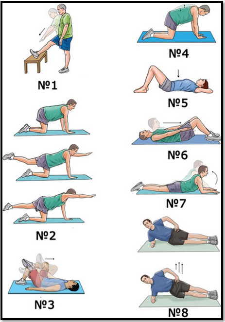 Упражнения при лордозе в тренажерном зале