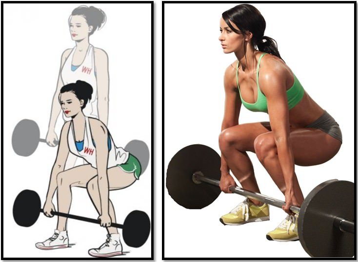 Становая тяга для девушек