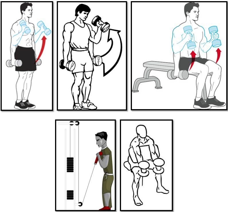 Упражнение молот вариации