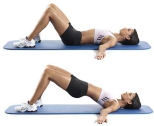 Упражнения при диастазе 1