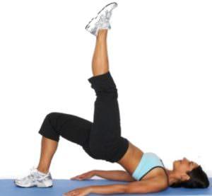 Упражнения при диастазе 3