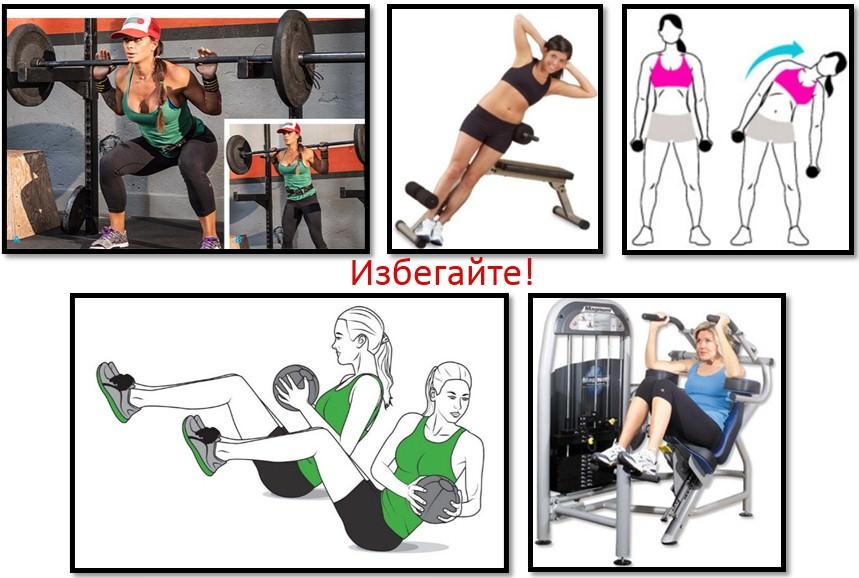 Упражнения увеличивающие талию