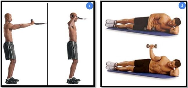 Упражнения для тренировки ротаторной манжеты
