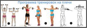 Программа тренировки плеч №3