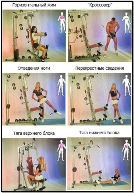 упражнения в комплексе омега