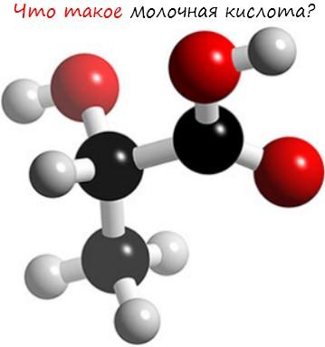 Молочная кислота катализатор роста мышц у атлета