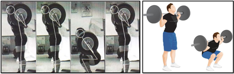 Приседания со штангой, техника выполнения