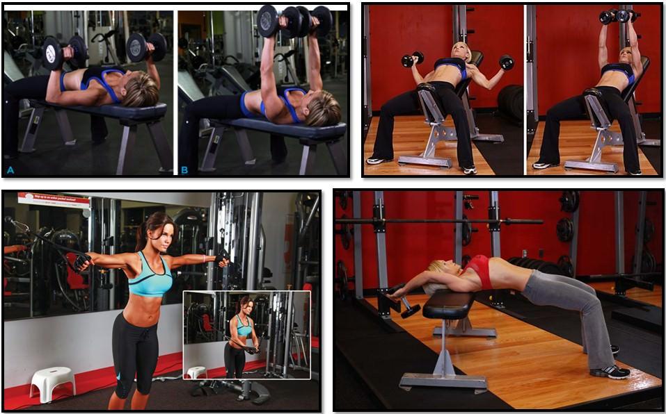 упражнения для девушки для груди