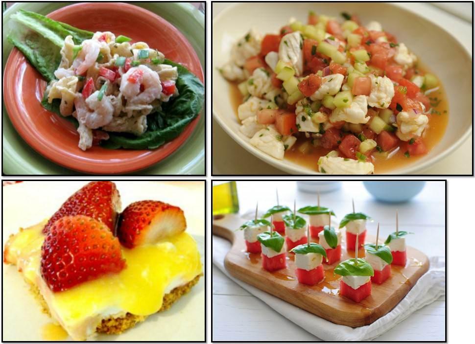 Питание в жару рецепты