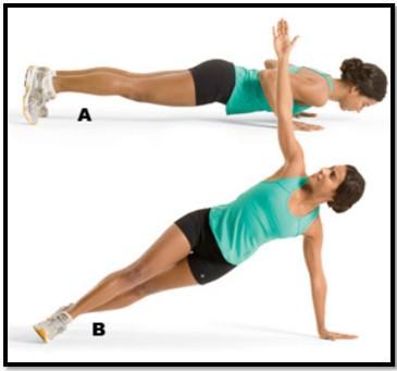 упражнение от растяжек на груди