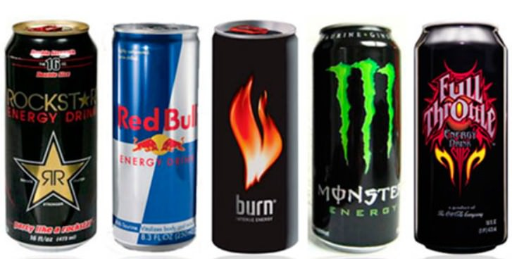 что пить после тренировки, энергетические напитки