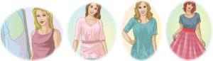 как визуально уменьшить грудь, правильный гардероб 2