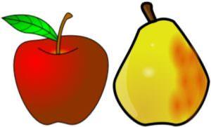 яблоки и груши для ускорения обмена веществ
