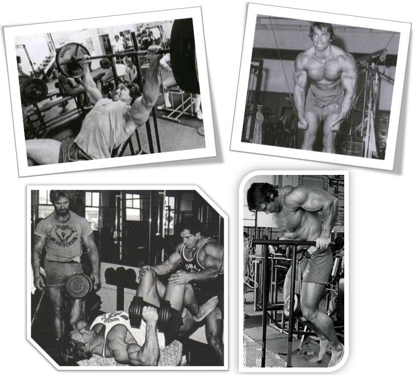 Арнольда Шварценеггер тренировка груди