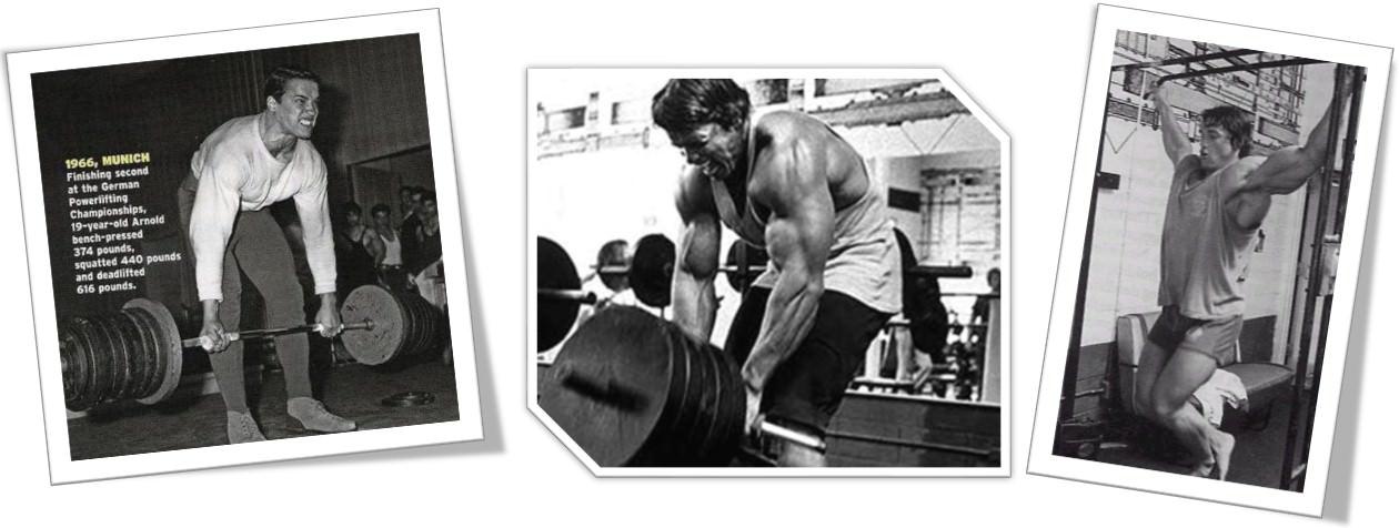 Арнольда Шварценеггер тренировка спины