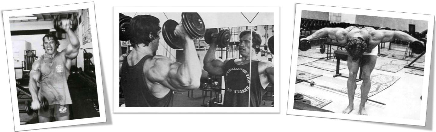 Арнольда Шварценеггер тренировка плеч