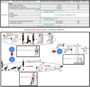 Программа тренировок на выносливость схема + таблица