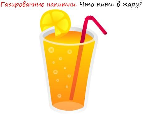 Газированные напитки. Что пить в жару лого