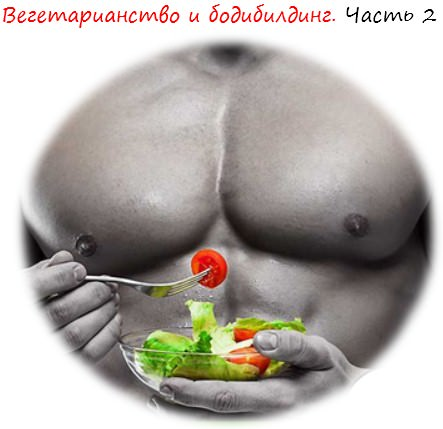 Вегетарианство в бодибилдинге. Часть 2 лого