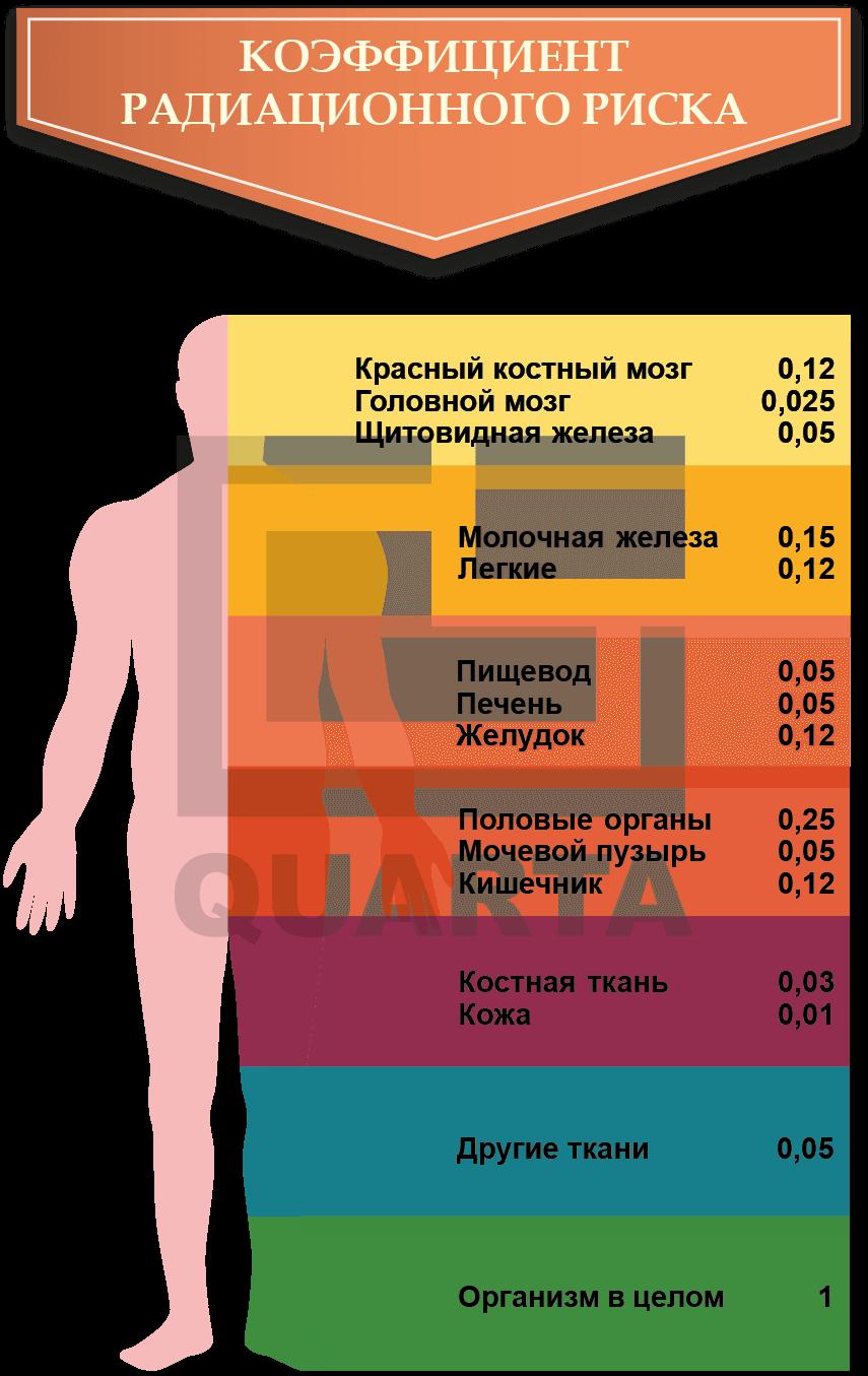 Коэффициент радиационного риска